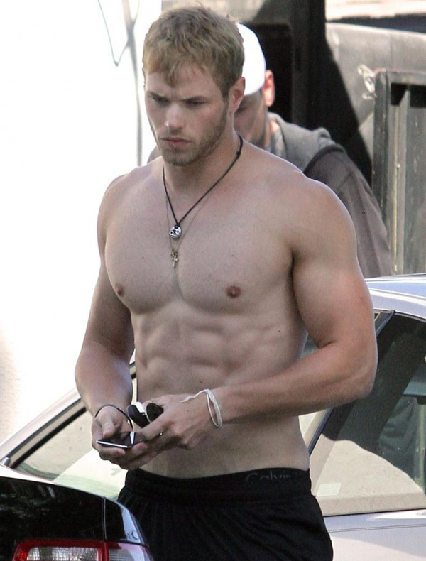 Kellan Lutz from 'Twilight'