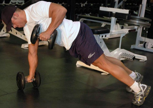 Chest Workout: Renegade Row