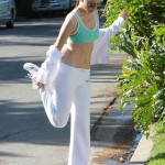 Maria Menounos Jogging
