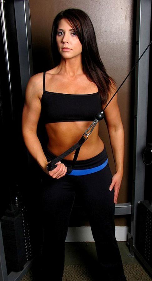Julie Comer fitness model
