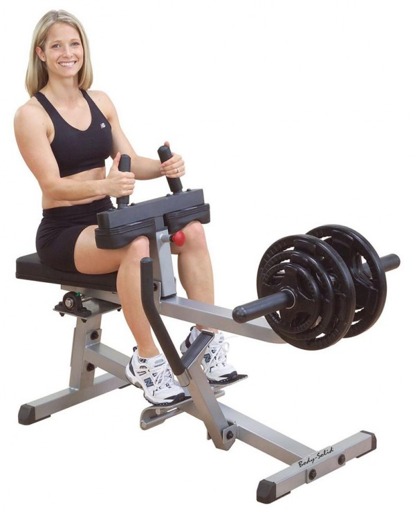Leg: Seated Calf Rise