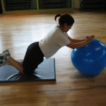 Abs: Stability Ball Roll