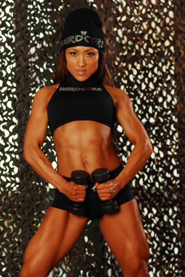 Chie Terui fitness model
