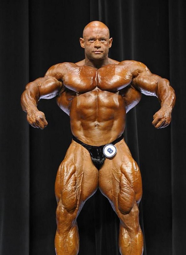Branch Warren at Arnold Classic Men's Bodybuilding 2012