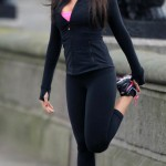 Tamara Ecclestone Working Out in London