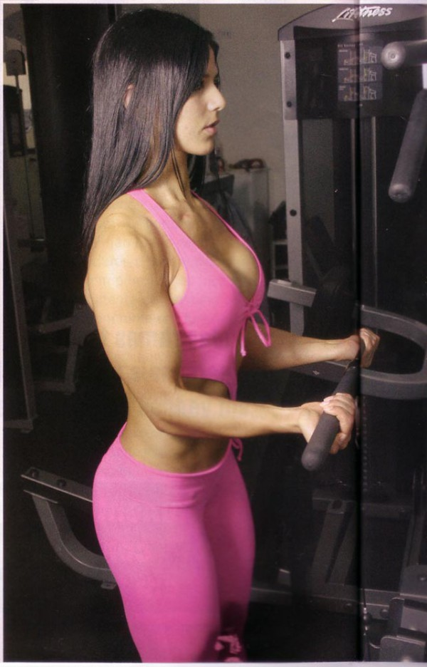 Eva Andressa fitness model