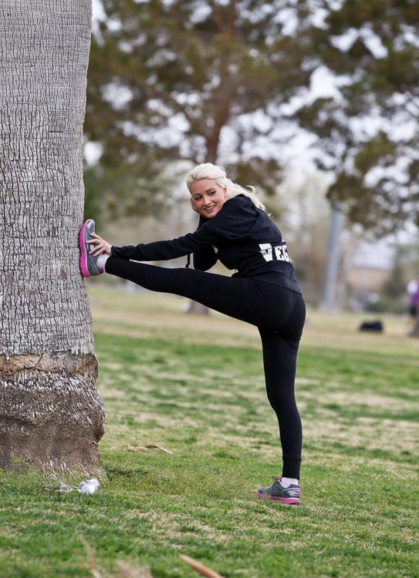 holly madison workout