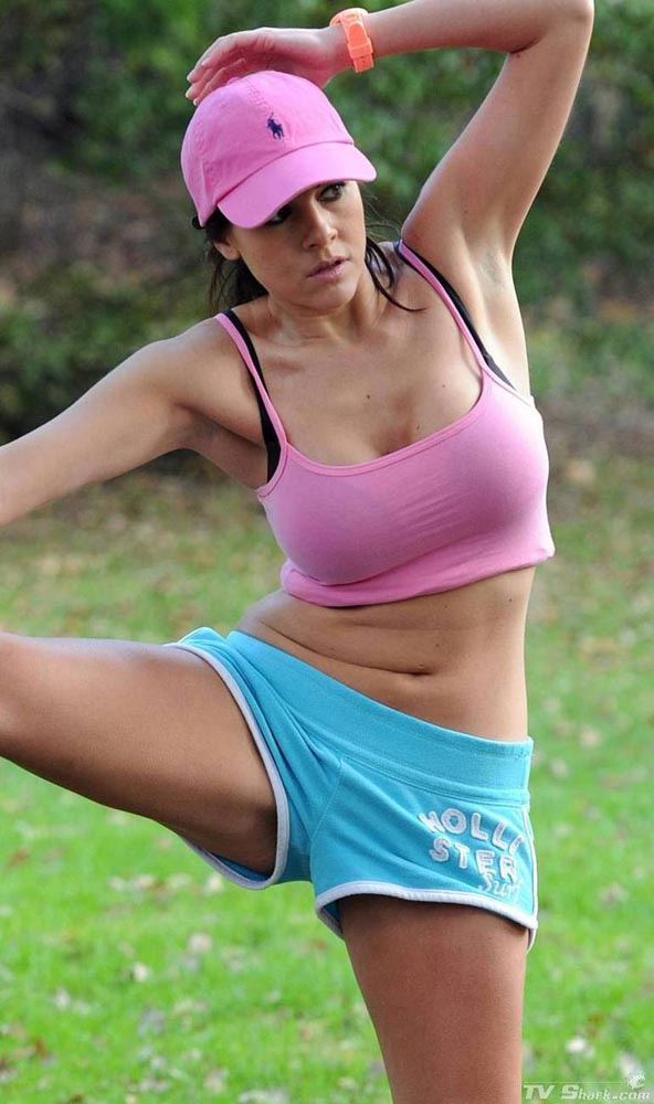 Imogen Thomas Park workout