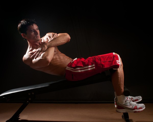 Decline Bench Abs Workout