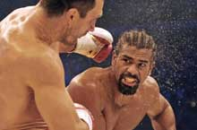David Haye in the Ring
