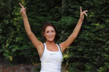 Amy Childs Jogging II