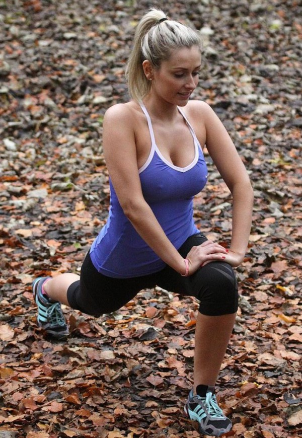 Gemma Merna Outdoor Workout