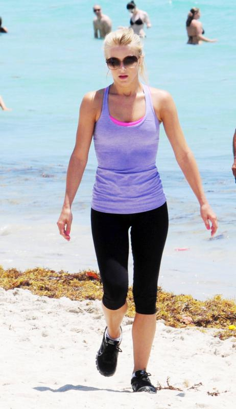 Julianne Hough Jogging