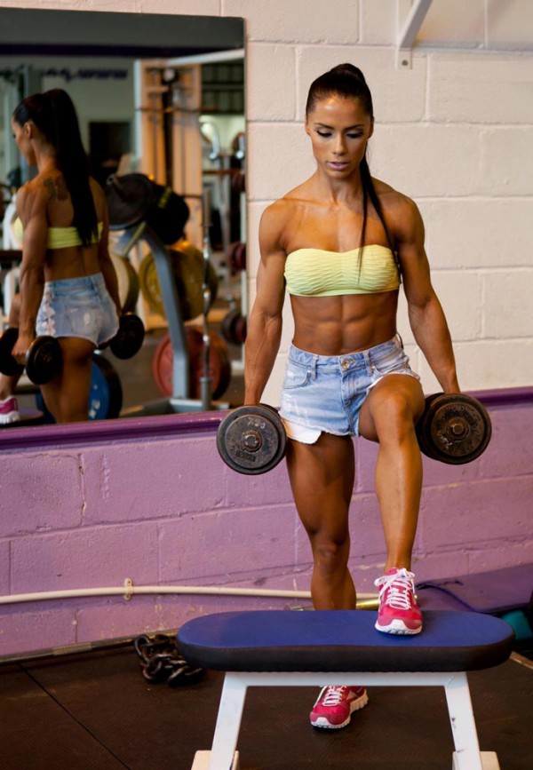 Andreia Brazier fitness model