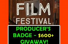 PRODUCER'S BADGE at AUSTIN FILM FESTIVAL GIVEAWAY!